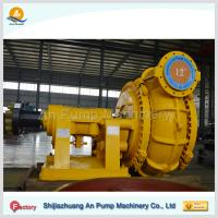 China high pressure horizontal centrifugal dredge gravel pumping machine on sale