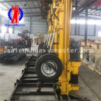 Wholesale Recommend pneumatic-electric DTH drilling rig KQZ-180D/household water well drilling machine with high working efficienc from china suppliers