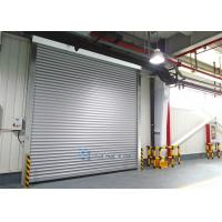 Aluminum alloy panel workshop industrial security doors