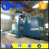 Wholesale Surface dustless H beam metal shot blasting machine for steel structure from china suppliers