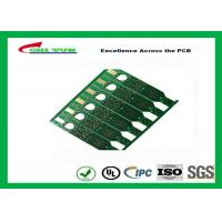 Wholesale 2 Layer Flash Gold PCB Green Solder Mask Quick Turn PCB Prototypes Fiducial Marks Add from china suppliers