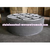 China HG / T21618 - 1998 Wire Mesh Demister Mist Eliminator High Temperature Oxidation Resistance on sale