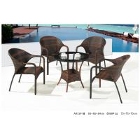 China 2014 pe rattan wicker coffee table chair outdoor sets on sale