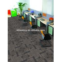 China PP Carpet Tile 50 * 50 with PVC Backing for sale