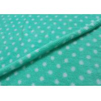 Wholesale 28 Needles Density Printed Polar Fleece Fabric , Kids Fleece Fabric Waterproof from china suppliers