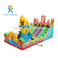 Buy cheap Large Outdoor gorilla design Kids Funland Inflatable Sports Games Inflatable Fun City from wholesalers