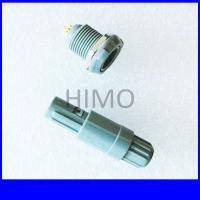 Buy cheap double key 6 pin lemo self-latching plastic connector from Wholesalers