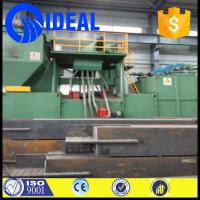 Wholesale conveyor type section steel dust cleaning new condition shot blasting machine from china suppliers