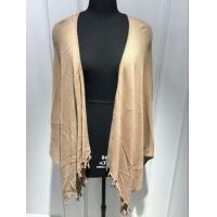 Wholesale Fashionable Soft Poncho Cardigan Sweater With Tassels Bottom BGAX16082 from china suppliers