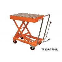 Buy cheap Hydraulic Manual Hand Lift Table With Powder Coat Finish Frame , 300kg Load from wholesalers