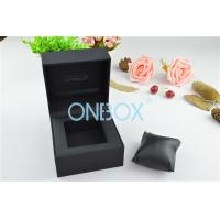 Wholesale Durable Luxury Watch Packaging With Soft Pillow Inside Top Padding from china suppliers