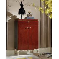 Wholesale Villa house Furniture Shoecase with drawers Ebony wood shoe cabinets for Hall furniture from China factory from china suppliers