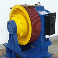 Buy cheap 1600kg,1.75m/s Permanent Magnet Synchronous Geared planet traction machines from wholesalers