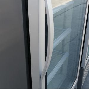 China Commerical Supermarket Glass Door Refrigerator And Freezer Display Cooler Single Glass Door Fridge on sale