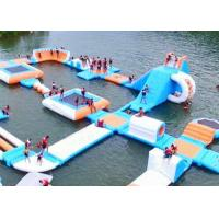 Wholesale Largest Indoor Outdoor  Island Water Park For Family , Beach Waterpark Floating Obstacle from china suppliers