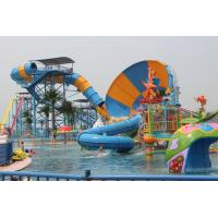 Aqua Park Water Park Project With Tornado Water Slide / Water House / Lazy River for sale