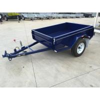 Buy cheap 6x4 Tandem Box Trailer Single Axle Utility Trailer 750KG With Mudguards Checker from wholesalers