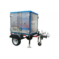 China Single Axle 2 Car Wheels Type Trailer Mounted Insulating Oil Filtraiton Machine 3000LPH on sale