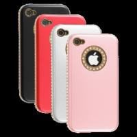 Wholesale Fashion Sheep Pattern Rhinestone Case for iPhone 4 4S from china suppliers