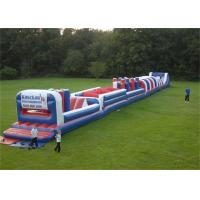 Wholesale Customized Long Inflatable Obstacle Bouncer For Outdoor Toddlers Games from china suppliers