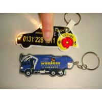 Wholesale Eco Friendly Beautiful Custom Pvc Rubber Keychain With Flash Light from china suppliers