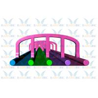 Wholesale 300m Four Lanes Giant Inflatable Slide Inflatable Awesome Colorful Slide For Event from china suppliers