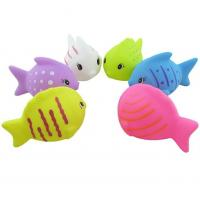 China Mini Fish Shaped Plastic Baby Toys / Animals Swimming Toys for Toddler Bathing on sale
