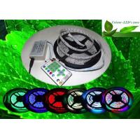 RGB Waterproof Flexible LED Strip Light IP65 5050 SMD Color Changing for Decorative Lighting for sale