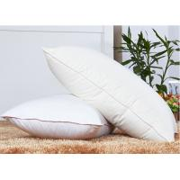 Buy cheap Rectangle 80% Goose Down Pillows And 250T With Customize Size from wholesalers