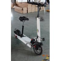 Wholesale 2016 fashion and high technology Carbon Fiber Folding 2 wheel Electric Scooter with 10.4Ah from china suppliers