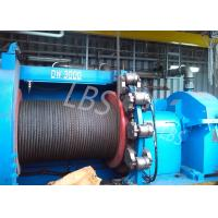 China High Speed Electric Winch Machine / Electric Power Winch For Platform And Emergency Lifting on sale