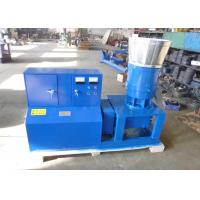 China Poultry Feed Pellet Machine , Homemade Small Pellet Mill Flat Die Type on sale