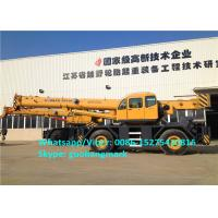 Wholesale 150m/Min Lifting Speed XCMG RT55 55 Ton All Wheel Drive Heavy Duty Rough Terrain Tractor Crane With Cummins Engine from china suppliers