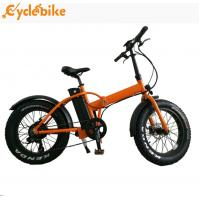 Buy cheap Hot selling 48v 500w bafang motor 20inch folding mountain fat tire electric bicycle for ebike from Wholesalers