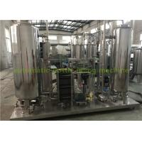 Wholesale Industrial CO2 Gas Carbonated Drink Automatic Drink Mixing Machine With 3000L Three Tanks from china suppliers