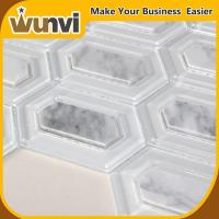 Buy cheap Glass and Stone Mosaic Tile Backsplash For Spa Wall Background from wholesalers
