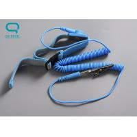 Buy cheap Easily Adjustable ESD Wrist Strap , Anti Static Wrist Strap With Great Conductivity from wholesalers