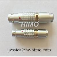 China wholesale supply 4pin 5pin push pull lemo automotive connector 1B series transfer straight plug cable assembly for sale