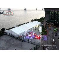 Wholesale 15m x 40m Waterproof Luxury Wedding Tent with Air Conditioner , Marquee with decoration from china suppliers