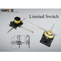 China Yellow Position ( Rotation Angle ) Limited Switch For Complex Cranes And Lifting Hoists on sale