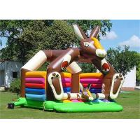 Wholesale Donkey Inflatable Bouncer , Large Adult Bouncer For Reselling from china suppliers