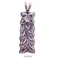Wholesale Classic Silver Hawaiian Jewelry 925 Engraved Pattern Hawaiian Heirloom Pendant from china suppliers