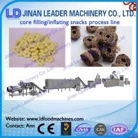 Wholesale core filling snakcs food machine snacks with rice flour from china suppliers