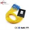 Customized PLC Fiber Optic Splitter Module 1X64 Operating Wavelength 1260-1650nm for sale