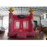 Wholesale Colourful Custom Inflatable Big Bouncy Castle Kids Indoor Inflatable Bouncer Fire Resistance PVC from china suppliers