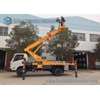 Wholesale JMC 4x2 20m telescopic work platform high altitude operation truck from china suppliers