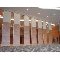 China Water - Proof MDF Material Movable Partitions Wall For Ballroom Customized Color on sale