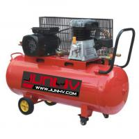 China 220V Oil Lube Auto Shop Air Compressor 3HP 250 Air Displacement L/Min - CFM 100L for sale