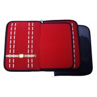 Ladies Travel Watch Roll Case , 4 Roll Travel Case For Watches / Bracelets
