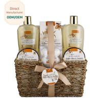 250ml 300ml Beauty Bath Gift Sets Moisturizing Feature Customized Logo for sale